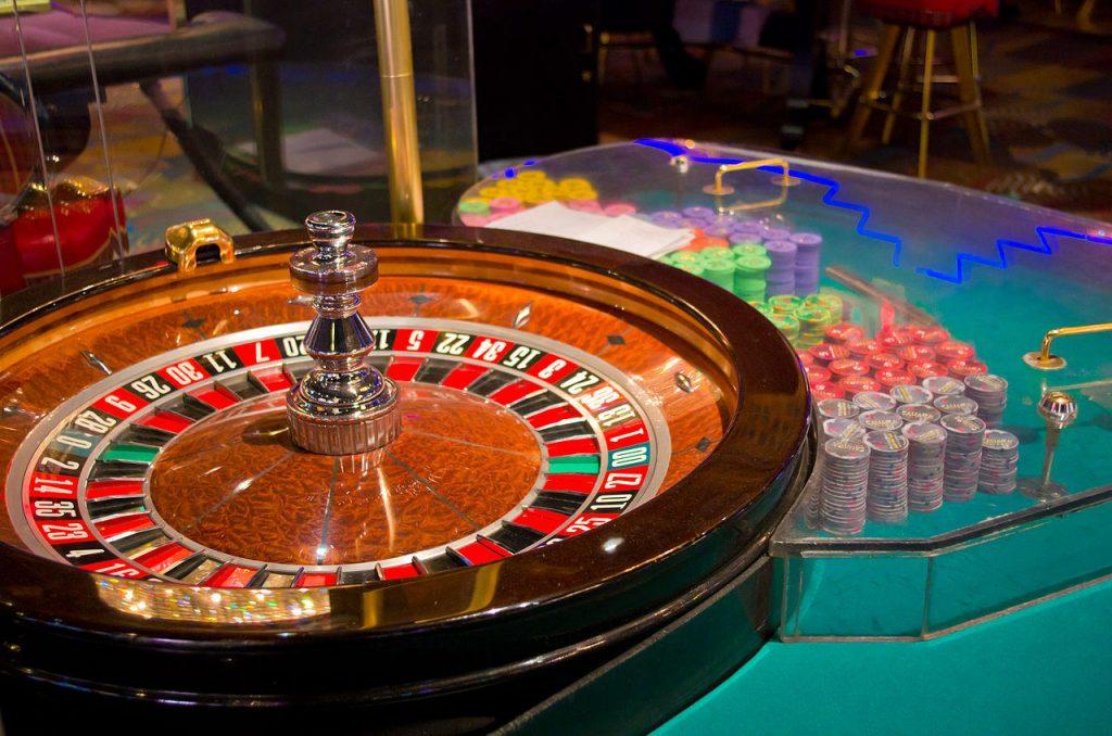 a casino cooler